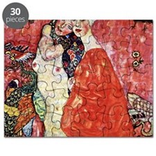 Gustav Klimt Girlfriends Puzzle