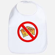 No Cheese Heads! Bib