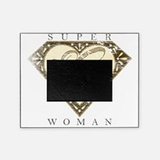 Superwoman G Brn Fade Picture Frame