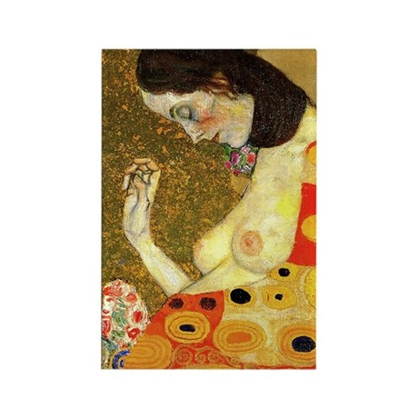Gustav Klimt Hope Rectangle Magnet