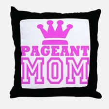 Pageant Mom Pink Generic Throw Pillow