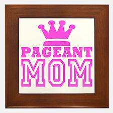 Pageant Mom Pink Generic Framed Tile