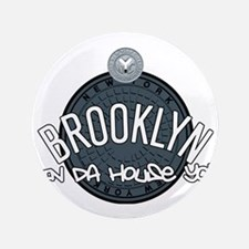 """Brooklyn in the House 3.5"""" Button"""