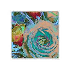 "Beautiful Roses Square Sticker 3"" x 3"""