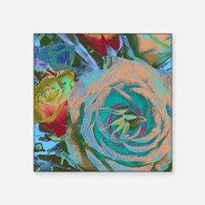 "Beautiful Roses Square Sticker 3"" x 3"""