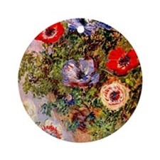 anemonen Round Ornament
