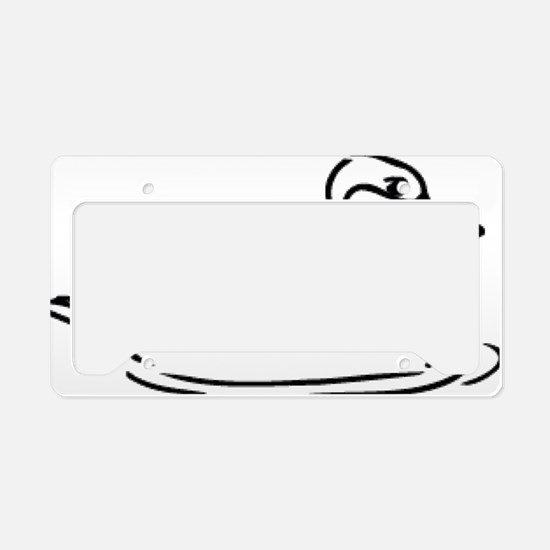 Duck_0048.gif License Plate Holder