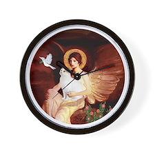 Angel 1-Turkish Van cat Wall Clock