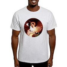 Angel 1-Turkish Van cat T-Shirt
