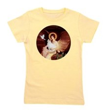 Angel 1-Turkish Van cat Girl's Tee
