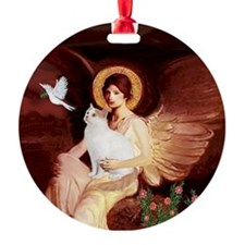 Angel 1-Turkish Van cat Ornament