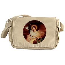 Angel 1-Turkish Van cat Messenger Bag