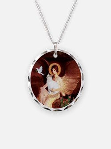 Angel 1-Turkish Van cat Necklace