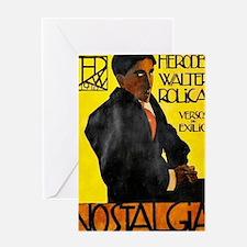 Português: Herodes Walter Roliça - v Greeting Card