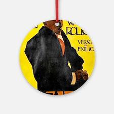 Português: Herodes Walter Roliça -  Round Ornament