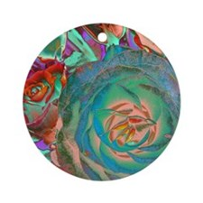Beautiful Rose Round Ornament