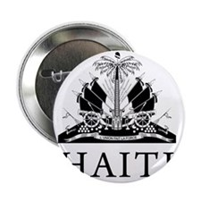 "Haiti Coat Of Arms 2.25"" Button"