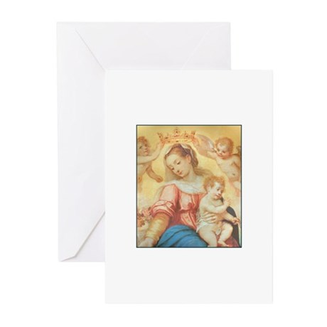 Madonna del Rosario Greeting Cards (Pk of 10)