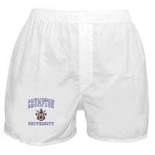 CRUMPTON University Boxer Shorts