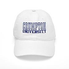 CRUMPTON University Baseball Cap