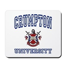 CRUMPTON University Mousepad