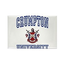 CRUMPTON University Rectangle Magnet