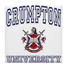 CRUMPTON University Tile Coaster