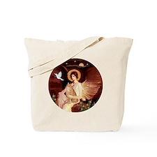 Angel 1 - Orange Tabby Cat Tote Bag