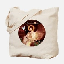 Angel 1 - Orange Tabby Cat Tote Bag