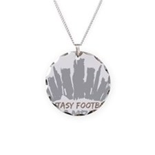 Fantasy Football Champion Necklace Circle Charm