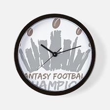 Fantasy Football Champion Wall Clock