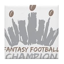 Fantasy Football Champion Tile Coaster