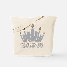 Fantasy Football Champion Tote Bag