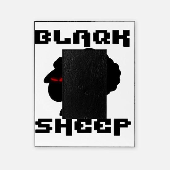 Transparent blaQk Sheep Logo Picture Frame