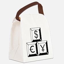 Money_0214 Canvas Lunch Bag