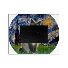 Starry - Snow Shoe Cat Picture Frame