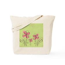flowerpink Tote Bag