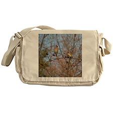 Cedar Waxwings Messenger Bag