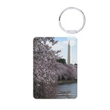 Peal bloom cherry blossom  Keychains