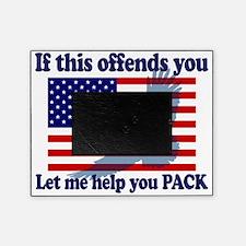 Flag  Eagle Patriot Picture Frame