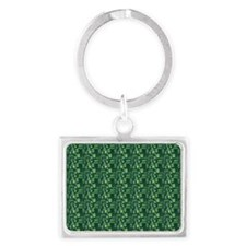 Aby-a-Day TikiGreen Landscape Keychain