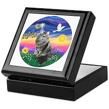 Twilight - Silberian cat Keepsake Box