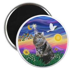 Twilight - Silberian cat Magnet