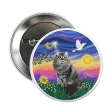 "Twilight - Silberian cat 2.25"" Button"
