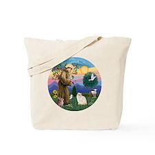 St Francis - Himalayan (Flame Pt) Tote Bag
