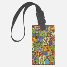 Quilt Luggage Tag