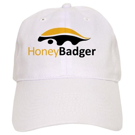 Honey Badger Logo Cap