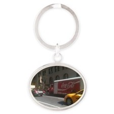 Coke at City Center Oval Keychain