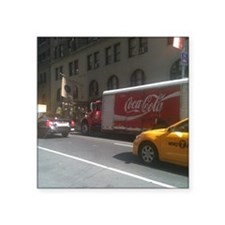 "Coke at City Center Square Sticker 3"" x 3"""