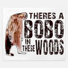 Bobo in These Woods - Finding Bigfoot King Duvet